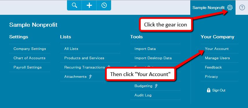 QuickBooks Online Integration Setup Guide - DonorSnap Support