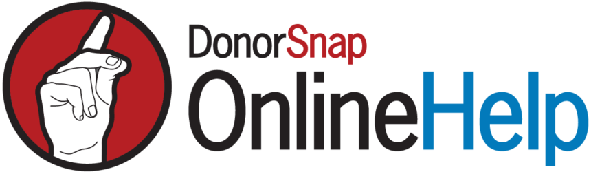 DonorSnap Support
